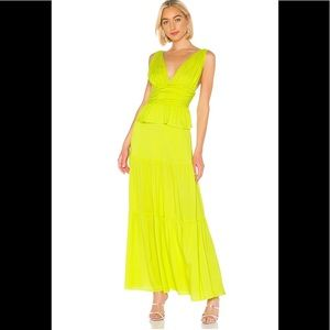 Cinthia Rowley - Parker Maxi Dress in Lime